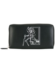Givenchy Bambi Print Wallet Black