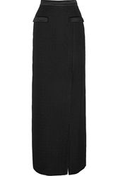 Temperley London Marino Satin Trimmed Matelassa Maxi Skirt