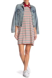 Current Elliott The Beatnik Stripe Dress Vint Stripe Jer