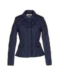 Geox Jackets Dark Blue