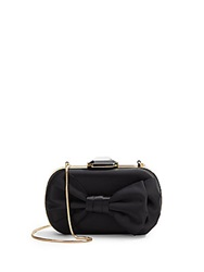 Saks Fifth Avenue Ina Satin Convertible Clutch