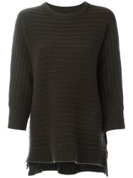 Zadig And Voltaire 'Athina' Sweater Green