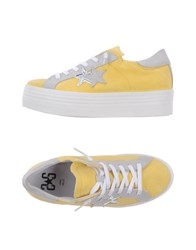 2Star Footwear Low Tops And Trainers Women Yellow