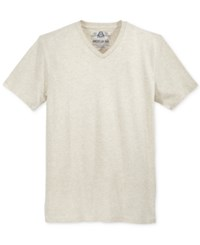 American Rag Men's V Neck T Shirt Only At Macy's Maple Heather