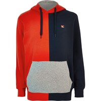 River Island Jack And Jones Red Colour Block Hoodie