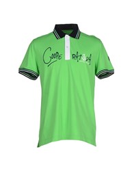 Cooperativa Pescatori Posillipo Topwear Polo Shirts Men Green