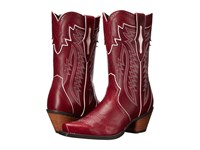 Ariat Calamity Lipstick Red Cowboy Boots