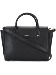 Furla Small 'Linda' Carry All Tote Black