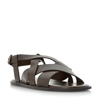 Dune Ionian Multi Strap Sandals Brown