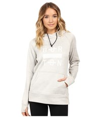 Burton Quartz Pullover Dove Heather Women's Sweatshirt Blue