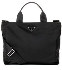Prada East West Shopper Black