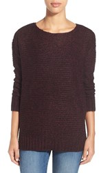 Women's Rd Style Marled High Low Sweater