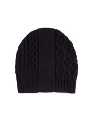 Maison Martin Margiela Mutli Knit Cotton Beanie Hat