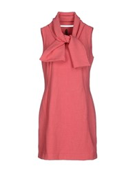 Manila Grace Dresses Short Dresses Women Coral