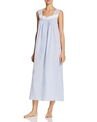 Eileen West Sleeveless Ballet Nightgown Blue