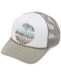O'neill Juniors' Calm Waters Graphic Print Trucker Hat Look