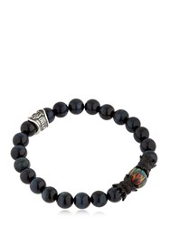 Cantini Mc Firenze Crown Labradorite Beaded Bracelet