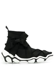 Red Valentino V Tie Side Detailed Sneakers Black