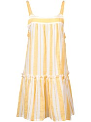 Lemlem Doro Beach Dress Yellow