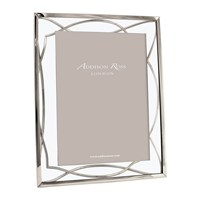 Addison Ross Chrome Elegance Photo Frame Silver