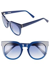 Derek Lam Women's 'Stella' 51Mm Round Sunglasses