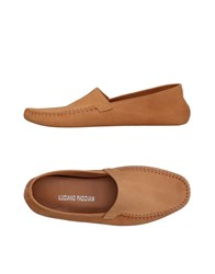 Luciano Padovan Loafers Camel
