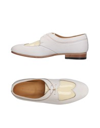 Dieppa Restrepo Lace Up Shoes Ivory