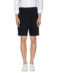 Umit Benan Trousers Bermuda Shorts Men Dark Blue