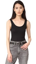 Twenty Tees Perfect Rib Tank Black