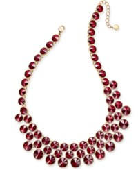 Charter Club Gold Tone Crystal Bubble Necklace Only At Macy's