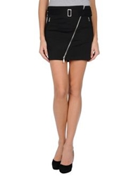 Richmond Mini Skirts Black