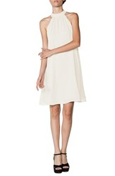 Ceremony By Joanna August Women's Halter Style Chiffon Shift Dress Going To The Chapel