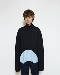 Marni Arched Turtleneck Black