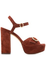 Tila March Sedano Heeled Sandals Brown