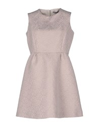 La Camicia Bianca Dresses Short Dresses Women Light Grey