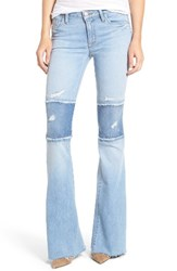 Hudson Jeans Women's Mia Patchwork Flare