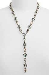 Women's Baublebar 'Ynez' Y Chain Necklace Pastel Antique Gold