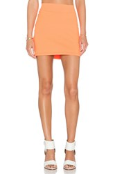 Susana Monaco Mini Skirt Orange
