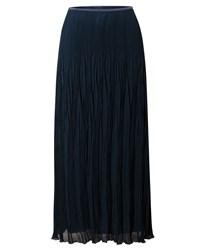 East Pleated Maxi Skirt Ink