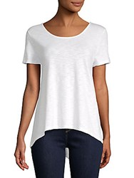 Saks Fifth Avenue Bar Back Tee Shirt Black