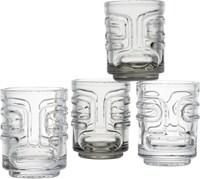 Cb2 Set Of 4 Tiki Stacking Shot Glasses