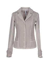 Liviana Conti Blazers Light Grey