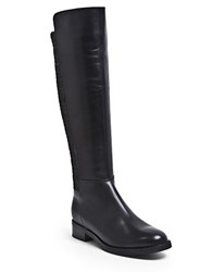 Blondo Elenor Waterproof Stretch Leather Knee High Boots Black
