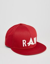 G Star Afrojack Cap Red