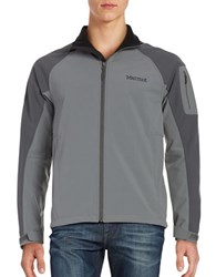 Marmot Gravity Monochrome Long Sleeve Jacket Cinder