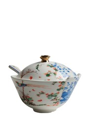 Seletti Hybrid Maurilia Bone China Sugar Bowl