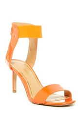Enzo Angiolini Sadora High Heel Sandal Orange