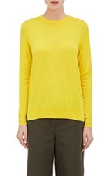 Proenza Schouler Women's Wool Crewneck Sweater Yellow