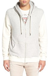 Men's Sol Angeles 'Roma' Textured Zip Hoodie