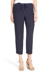 Women's Caslon Chino Ankle Pants Navy Peacoat